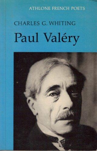 9780485122091: Paul Valery (Athlone French Poets)