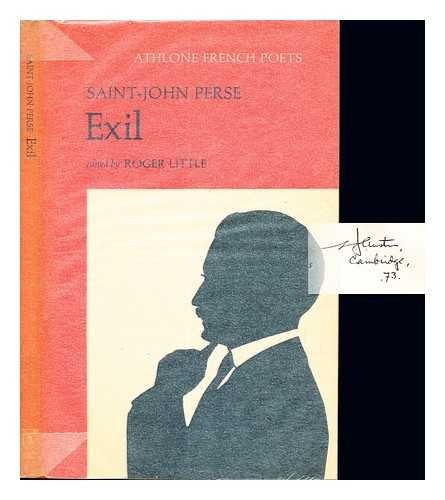 Exil (French Poets): Saint-John Perse