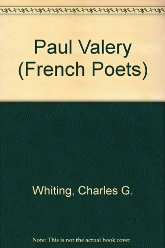 9780485146097: Paul Valery (French Poets)