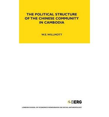 9780485195422: The Political Structure of the Chinese Community in Cambodia (London School of Economics Monographs on Social Anthropology, No. 42)