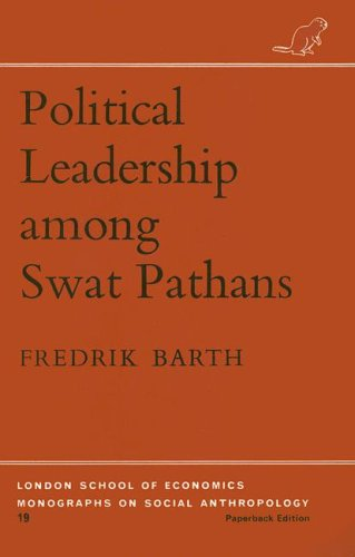 9780485196191: Political Leadership among Swat Pathans (London School of Economics Monographs on Social Anthropology)