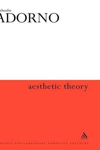 9780485300697: Aesthetic Theory (Continuum Impacts)