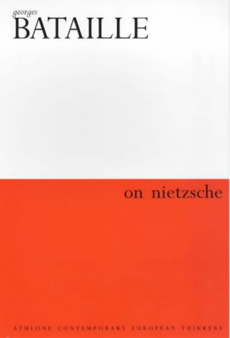 9780485300994: On Nietzsche (Athlone Contemporary European Thinkers)
