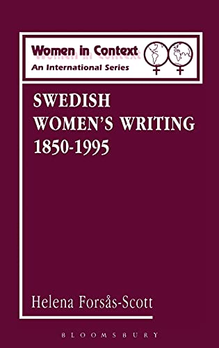 9780485910032: Swedish Women's Writing 1850-1995 (Women in Context (Athlone Pr))