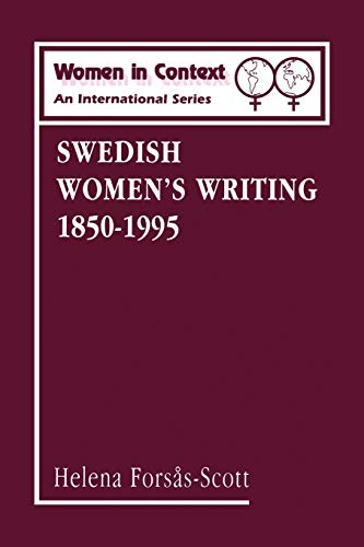9780485920031: Swedish Women's Writing 1850-1995 (Women in Context: Women's Writing)