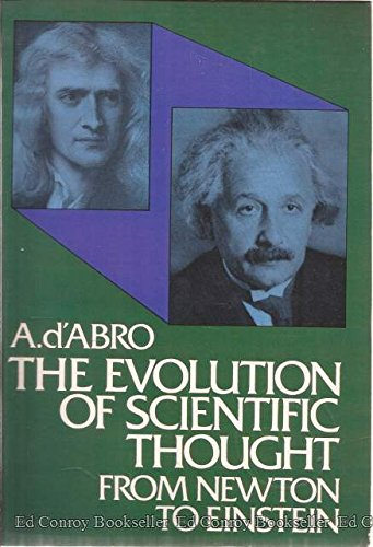 9780486200026: Evolution of Scientific Thought