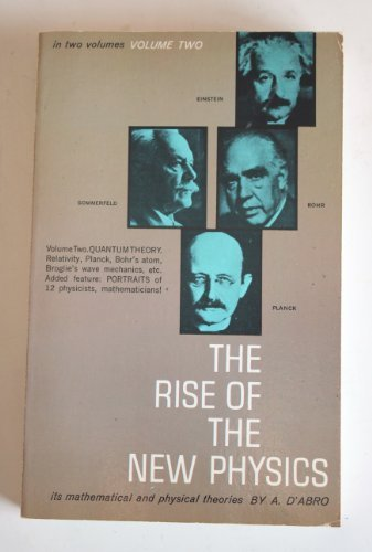 9780486200040: Rise of the New Physics, vol II