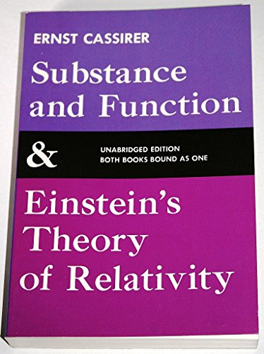 9780486200507: Substance and Function & Einstein's Theory of Relativity