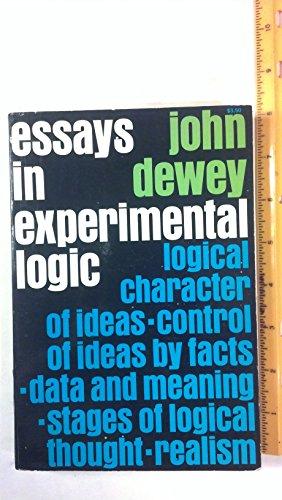 9780486200736: Essays in Experimental Logic