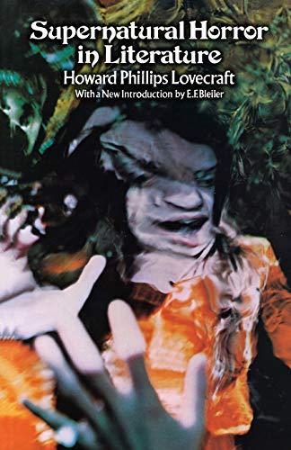 9780486201054: Supernatural Horror in Literature