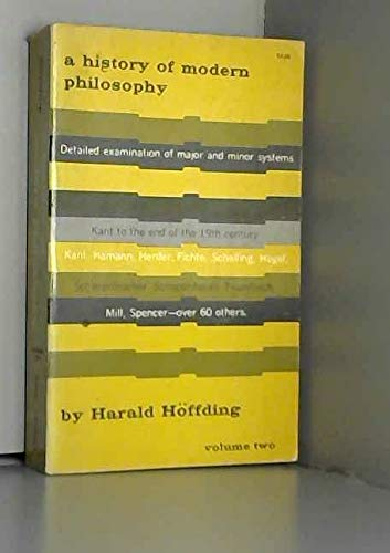 9780486201184: History of Modern Philosophy (v. 2)