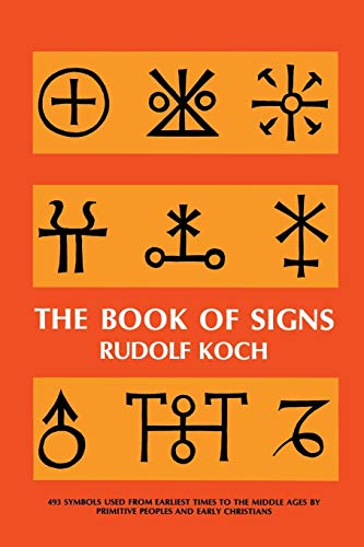 9780486201627: The Book of Signs (Dover Pictorial Archive)