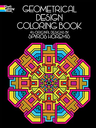 9780486201801: Geometrical Design Coloring Book (Dover Design ...