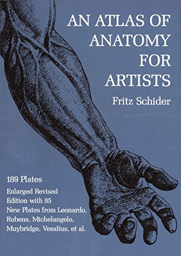 9780486202419: An Atlas of Anatomy for Artists