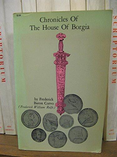 9780486202754: Chronicles of the House of Borgia