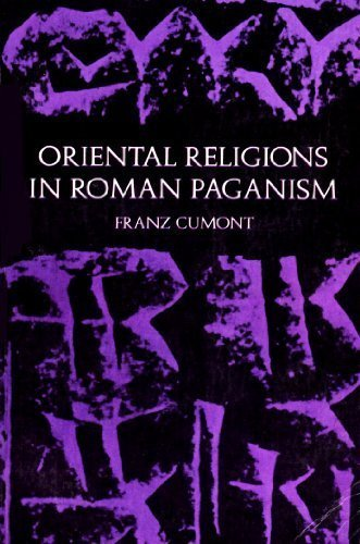 9780486203218: The Oriental Religions in Roman Paganism