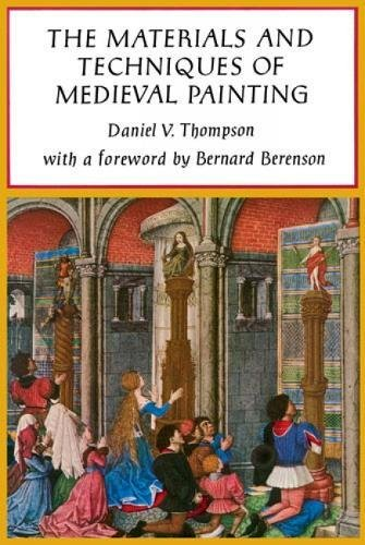 9780486203270: The Materials and Techniques of Mediaeval Painting (Dover Art Instruction)