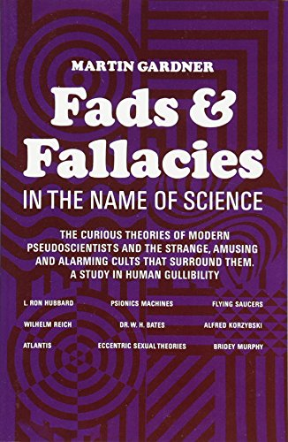9780486203942: Fads and Fallacies in the Name of Science