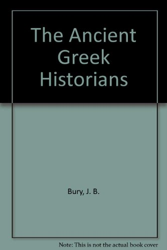 9780486203973: The Ancient Greek Historians
