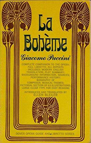 9780486204048: La/Boheme Opera Guide and Libretto