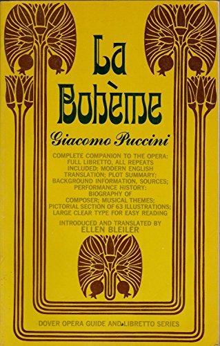 9780486204048: La Boheme Opera Guide and Libretto (English and Italian Edition)