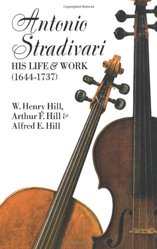9780486204253: Antonio Stradivari, His Life and Work, 1644-1737
