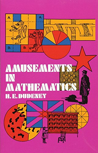 9780486204734: Amusements in Mathematics (Dover Recreational Math)
