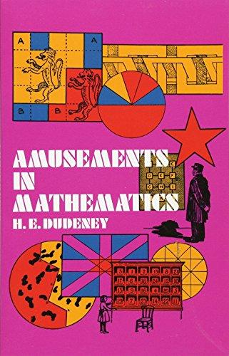 9780486204734: Amusements in Mathematics (Dover Recreational Math)