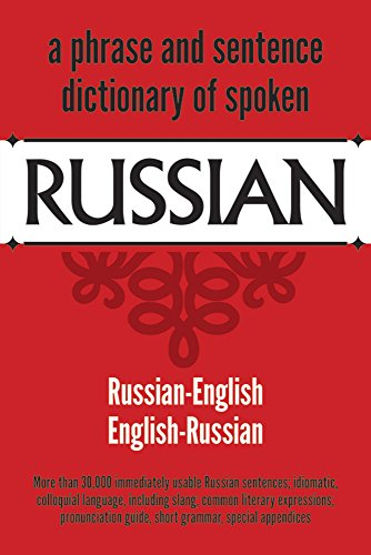 A Phrase and Sentence Dictionary of Spoken: United States War