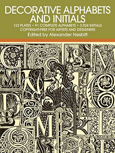 9780486205441: Decorative Alphabets and Initials