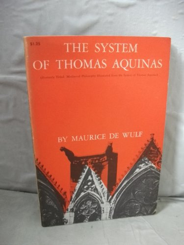 9780486205687: System of Thomas Aquinas