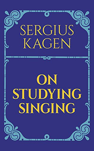9780486206226: On Studying Singing (Dover Books on Music)
