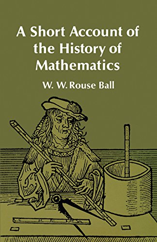9780486206301: A Short Account of the History of Mathematics (Dover Books on Mathematics)