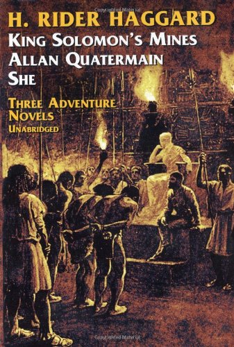 9780486206431: Three Adventure Novels: She, King Solomon's Mines, Allan Quatermain
