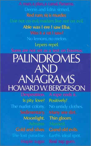9780486206646: Palindromes and Anagrams