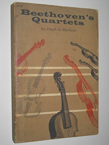 9780486206943: Beethoven's Quartets