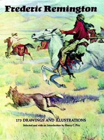 9780486207148: Frederic Remington: 173 Drawings and Illustrations
