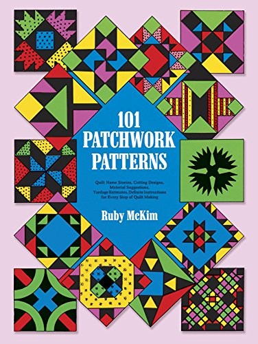 9780486207735: One Hundred and One Patchwork Patterns (Dover Quilting)