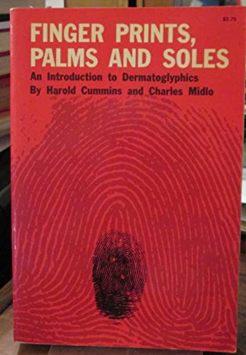9780486207780: Finger prints, palms, and soles: An introduction to dermatoglyphics