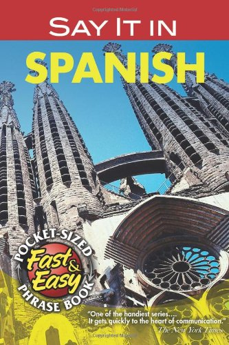 9780486208114: Say It in Spanish (American) (Dover Language Guides Say It Series)