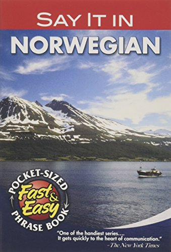 9780486208145: Say it in Norwegian (Dover Language Guides Say It Series)