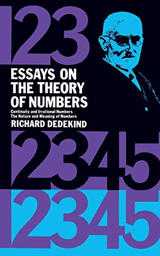 9780486210100: Essays on the Theory of Numbers (Dover Books on Mathematics)