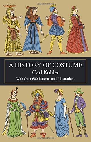 9780486210308: A History of Costume