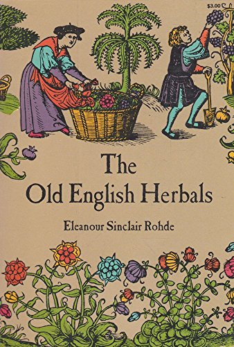 9780486211060: The old English herbals