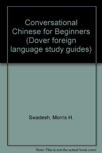 9780486211237: Conversational Chinese for Beginners (Dover foreign language study guides)