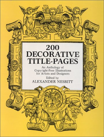 9780486212647: Two Hundred Decorative Title Pages