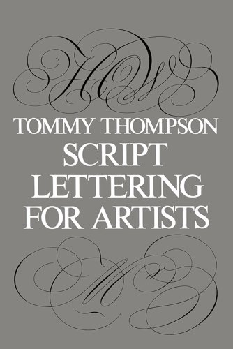 9780486213118: Script Lettering for Artists (Lettering, Calligraphy, Typography)