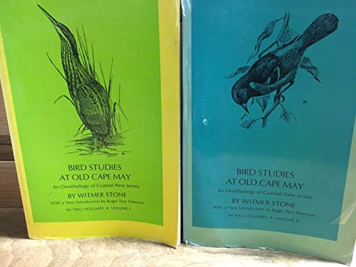 Bird Studies at Old Cape May: An Ornithology of Coastal New Jersey (2 Volumes)
