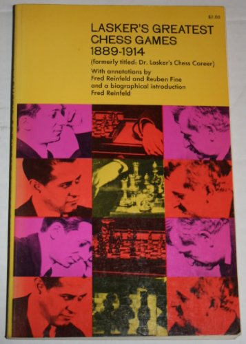 9780486214504: Lasker's Greatest Chess Games, 1889-1914