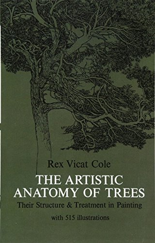 9780486214757: The Artistic Anatomy of Trees (Dover Art Instruction)